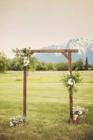 wedding arches ideas wood wedding arch best 25 wood wedding arches ideas on