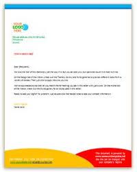 Business Letter Template For Letterhead Template Business Letters Formal Letter Block Format Spacing Best