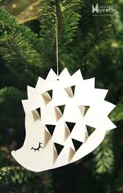 sweet sweet hedgehog for the christmas tree or just a lovely