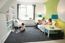 living room with kids facemasre com