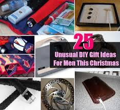 25 unusual diy gift ideas for men this christmas diycozyworld