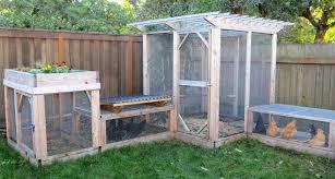 Building A Backyard Garden by The Garden Run Enclosure Plans Thegardencoop Com