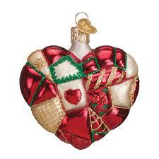 valentine u0027s day glass ornaments traditions