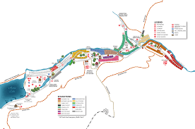 Ohio Campgrounds Map by Sitemap Austin Lake Park