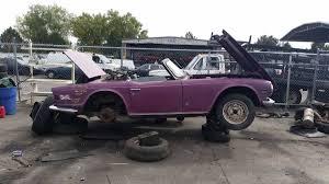 auto junkyard texas junkyard treasure 1974 triumph tr6 autoweek