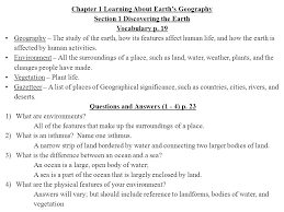 bodies of water list chapter 1 learning about earth s geography ppt video online download