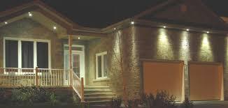garage plants recessed soffit lighting exterior outdoor windows