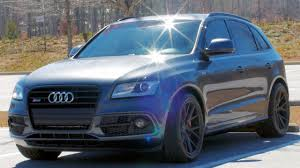 audi suv sq5 can an suv be a track car modified audi sq5 review