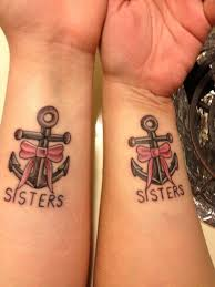 29 best anchor sister tattoos images on pinterest anchors