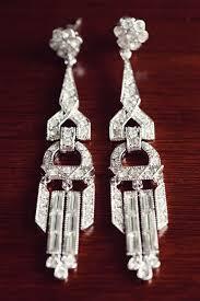 art deco earings by kenneth jay lane 1920s art deco themed wedding