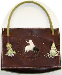 Hair On Cowhide Purse Page Title