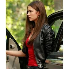 vampire diaries jacket elena gilbert leather jacket