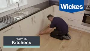 How To Lay Laminate Flooring Youtube How To Fit A Kitchen Plinth Pelmet And Cornice With Wickes Youtube