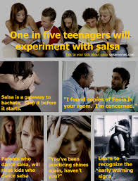 Memes About Teenagers - one in five teenagers will experiment with salsa salsa memes