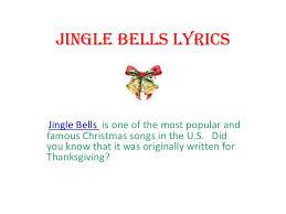 jingle bells lyrics