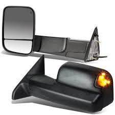 dodge ram 2500 tow mirrors dodge ram 2500 2010 2017 power heated towing mirrors smoked signal