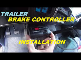 trailer brake controller installation ford f250 and pretty much