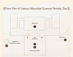 lianzuo mountain guanyin temple daxi taiwan religious culture map