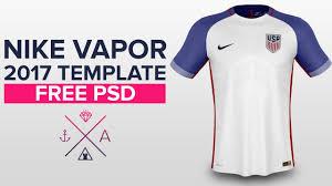 nike vapor 2017 shirt template usa soccer youtube