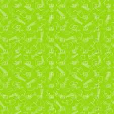 drink vector green background with food leavings icons fishbone core of an