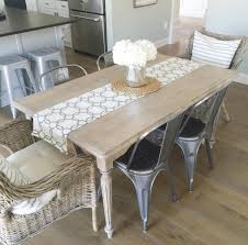 How To Paint A Dining Room Table by Kitchen Table Refinish Paint The World White By Brynne