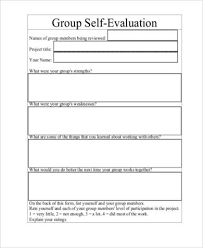 resume evaluation form group activity evaluation template peer evaluation form for group