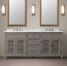 Restoration Hardware Bathroom Cabinet by 3195 Rh Kent Double Vanity Sink Vanity Sink 72