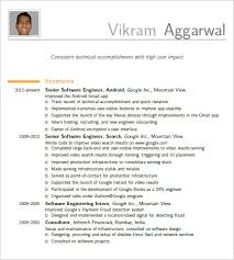 Software Developer Resume Examples by Resume Engineering Resume Template Word Oresumegoco Engineer
