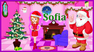 sofia the first movie games sofia christmas room decor video play