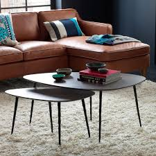 west elm round side table cool coffee tables designs view in gallery nesting coffee tables