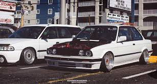 bmw e30 slammed scraped crusaders u0027 e30 meet