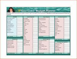 Complete Budget Worksheet Free Family Budget Spreadsheet Printable Personal Budget Worksheet