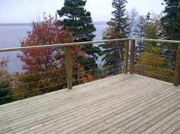 stainless steel cable railing systems modern porch portland
