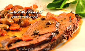 cuisiner un chevreuil cuissot de chevreuil sauce grand veneur petits plats entre amis