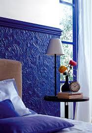 Painting Over Textured Wallpaper - tête de lit originale à fabriquer pour sa chambre 3d wallpaper