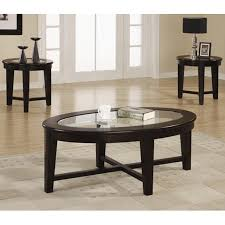 glass coffee table set of 3 alexis brown glass coffee table set steal a sofa furniture outlet