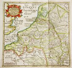 belgium and netherlands map antique map of belgium and netherlands editorial stock photo
