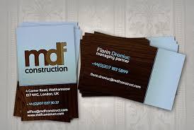construction company business card templates free u0026 premium
