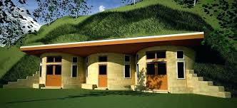 berm house earth home plans house earth sheltered house plans berm house