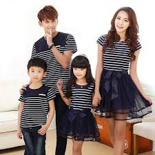 aliexpress buy matching family clothes fashion look striped