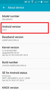 check android version how can i check what version of android i on my device