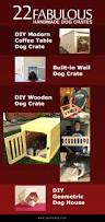 How To Build A End Table Dog Crate by 22 Fabulous Handmade Dog Crates Spartadog Blog