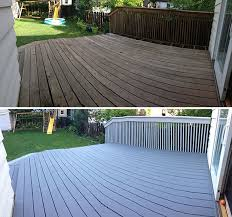 deck before and after no more splinters