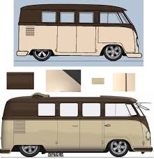 volkswagen bus painting pauls splitscreen van project custom paint design