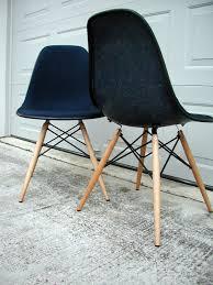 Herman Miller Padded Blue Vintage Chair Midcentury Modern Vintage Furniture Nest 210 Herman Miller Eames
