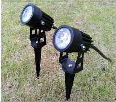 2017 3w 6w garden light led outdoor lighting 12v 110v 220v