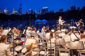 ny philharmonic concerts in the parks the official guide to new