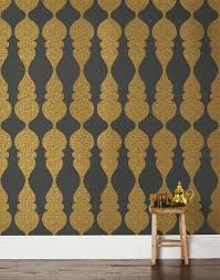 hygge and west carved ogee gray wallpaper hygge u0026 west