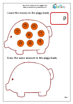 money maths worksheets for year 1 age 5 6