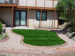 Lawn Free Backyard Fake Lawn Edgewood Indiana Landscape Rock Front Yard Ideas